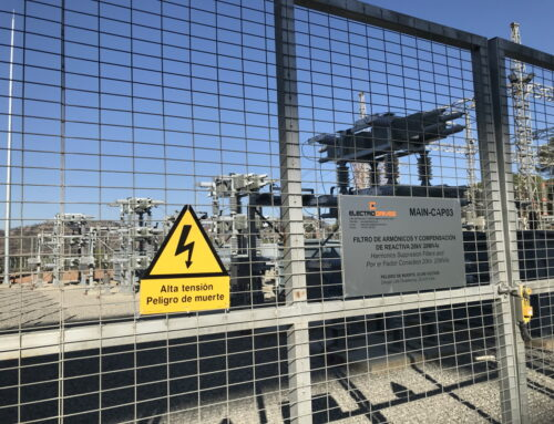 ElectroDrives completes the commissioning of a Harmonics Filter for Riotinto mine