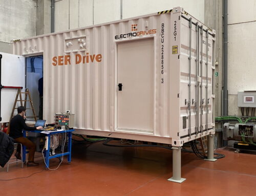 New 6500 kW SER Drive for a SAG mill finishes the FAT at ElectroDrives' premises