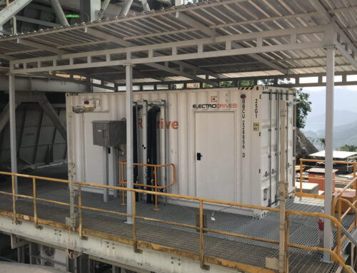 Variable speed upgrade of Ban Houayxai SAG mill completed